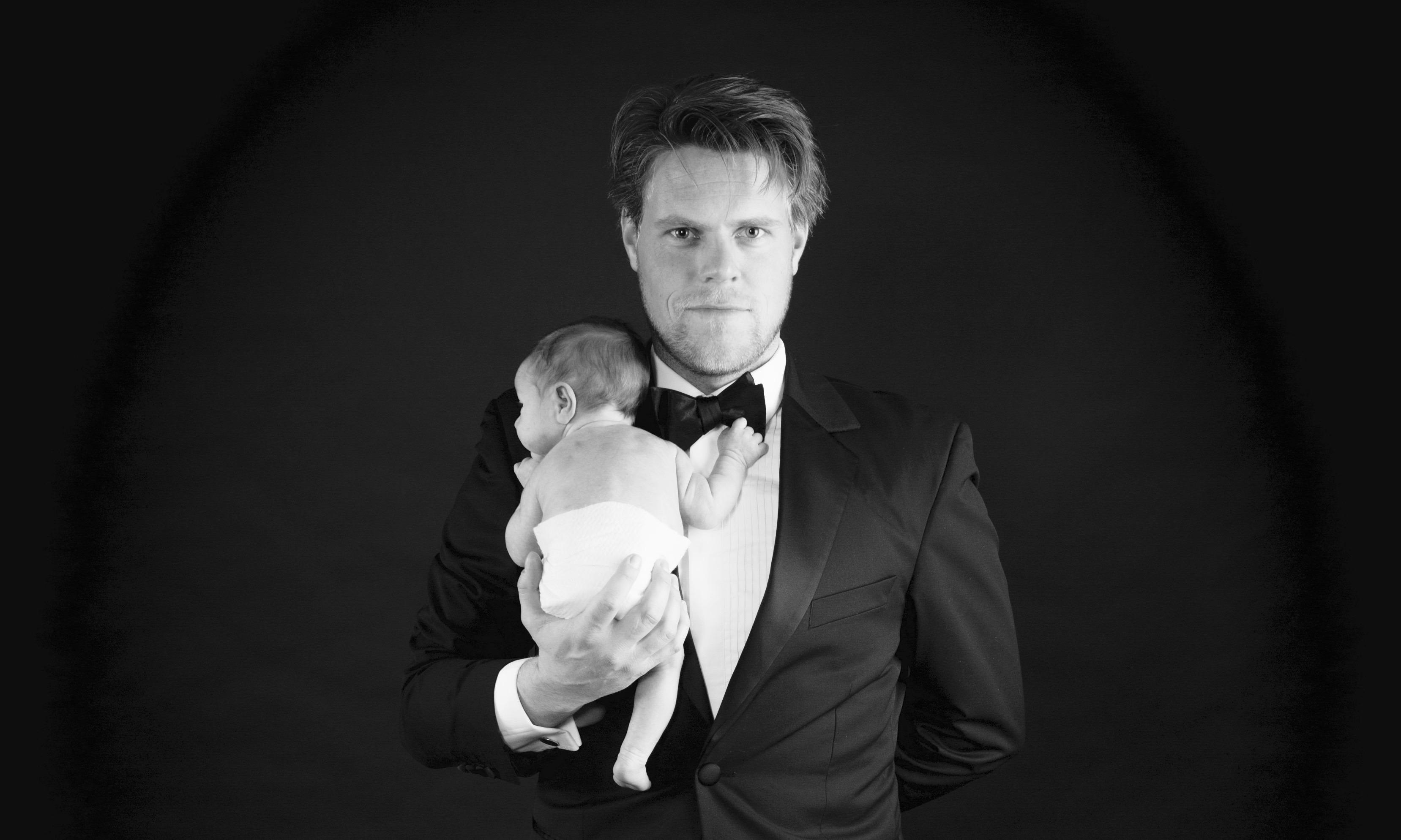Ondernemer Spreker Trainer Jelle Drijver met zijn zoon