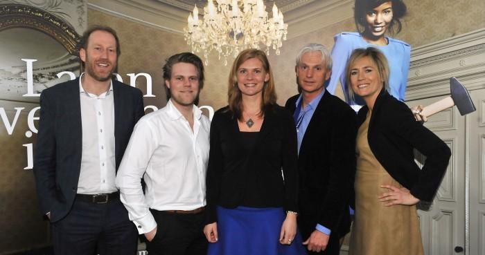 Arjan Erkel, Jelle Drijver, Roos Wouters, Marco Broeknellis, Joyce Steenveld op Schoevers Secretary Next 19 maart 2013
