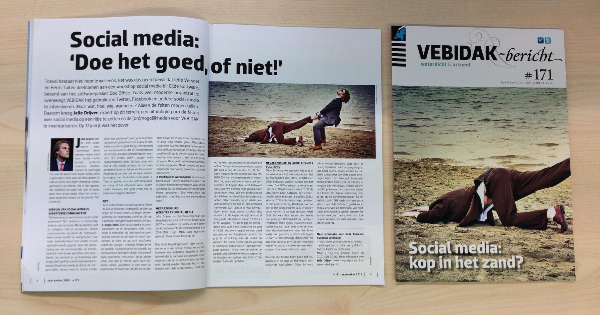 Vebidak Magazine Artikel Jelle Drijver Social Media