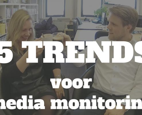 5 TRENDS voor media monitoring - Clipit Rinske Willemsen en Social Media trainer Jelle Drijver