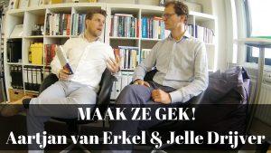 Maak ze gek boek bespreking Aartjan van Erkel en Jelle Drijver
