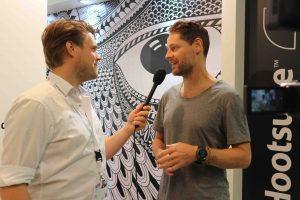Jelle Drijver in gesprek met Ryan Holmes Founder CEO Hootsuite