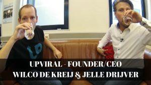 Upviral met Wilco de Kreij en Jelle Drijver