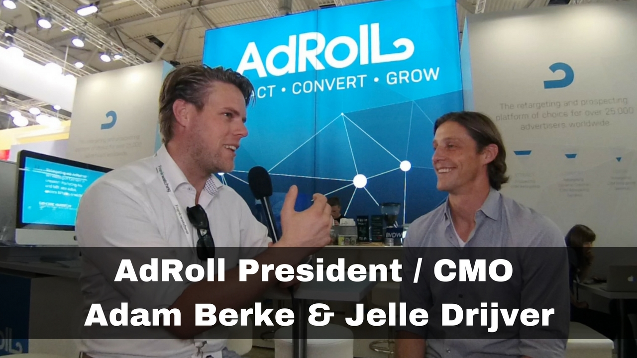Managing Online advertising with AdRoll – Adam Berke CMO