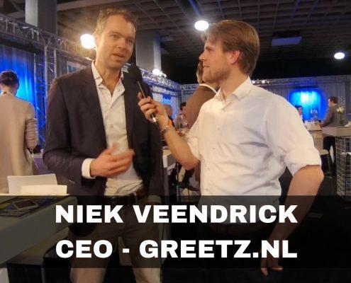Niek Veendrick CEO Greetz.nl