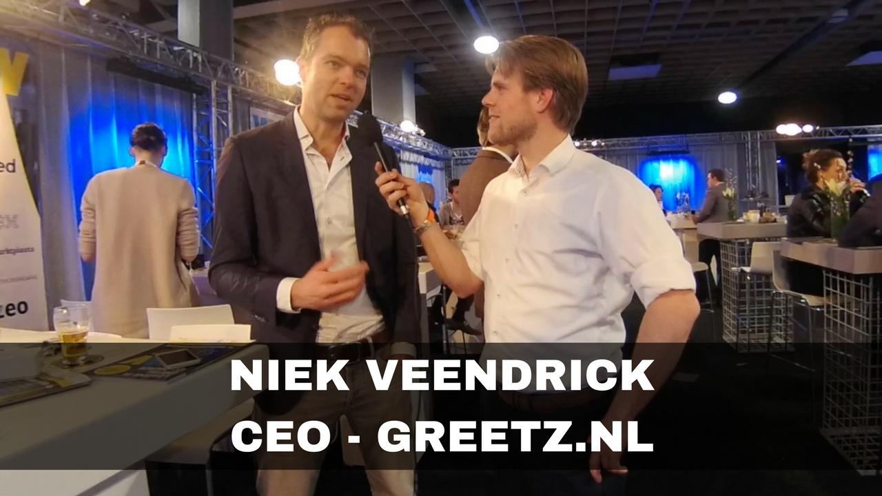 Niek Veendrick de CEO van Greetz.nl