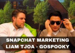 Snapchat Marketing met Liam Tjoa van GoSpooky