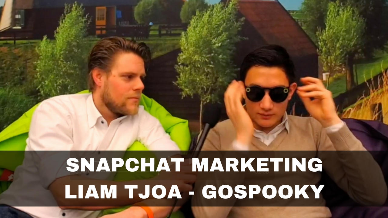 Snapchat Marketing volgens Liam Tjoa