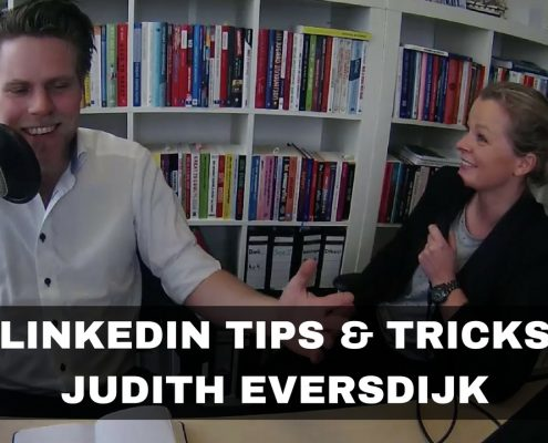 LINEKDIN TIPS AND TRICKS JUDITH EVERSDIJK THUMB