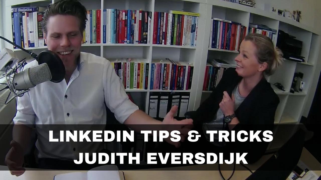 Linkedin tips van Judith Eversdijk
