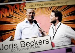 Jelle Drijver in gesprek met Joris Beckers Picnic