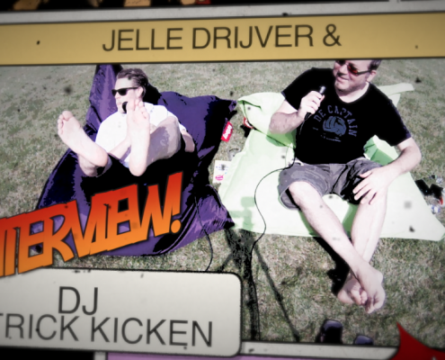 DJ Patrick Kicken en Jelle Drijver