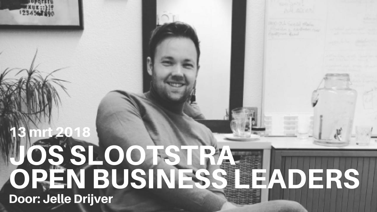 Jos Slootstra – Director OPEN Business Leaders