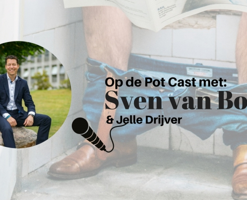 Sven van Bockel te gast in de OP de POT CAST