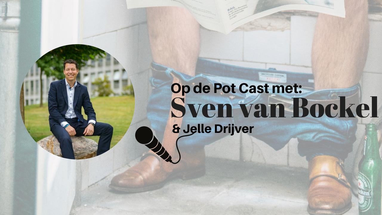 Sven van Bockel te gast in de OP de POT CAST