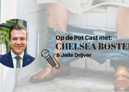 Chelsea Bosters te gast in de Op De Pot Cast