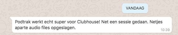 Clubhouse sessies opnemen als podcast met de ZOOM Podtrak P4